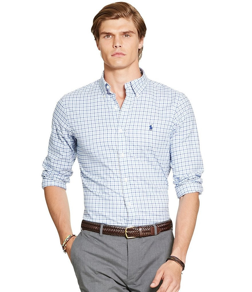 Polo Ralph Lauren Plaid Cotton Twill Shirt