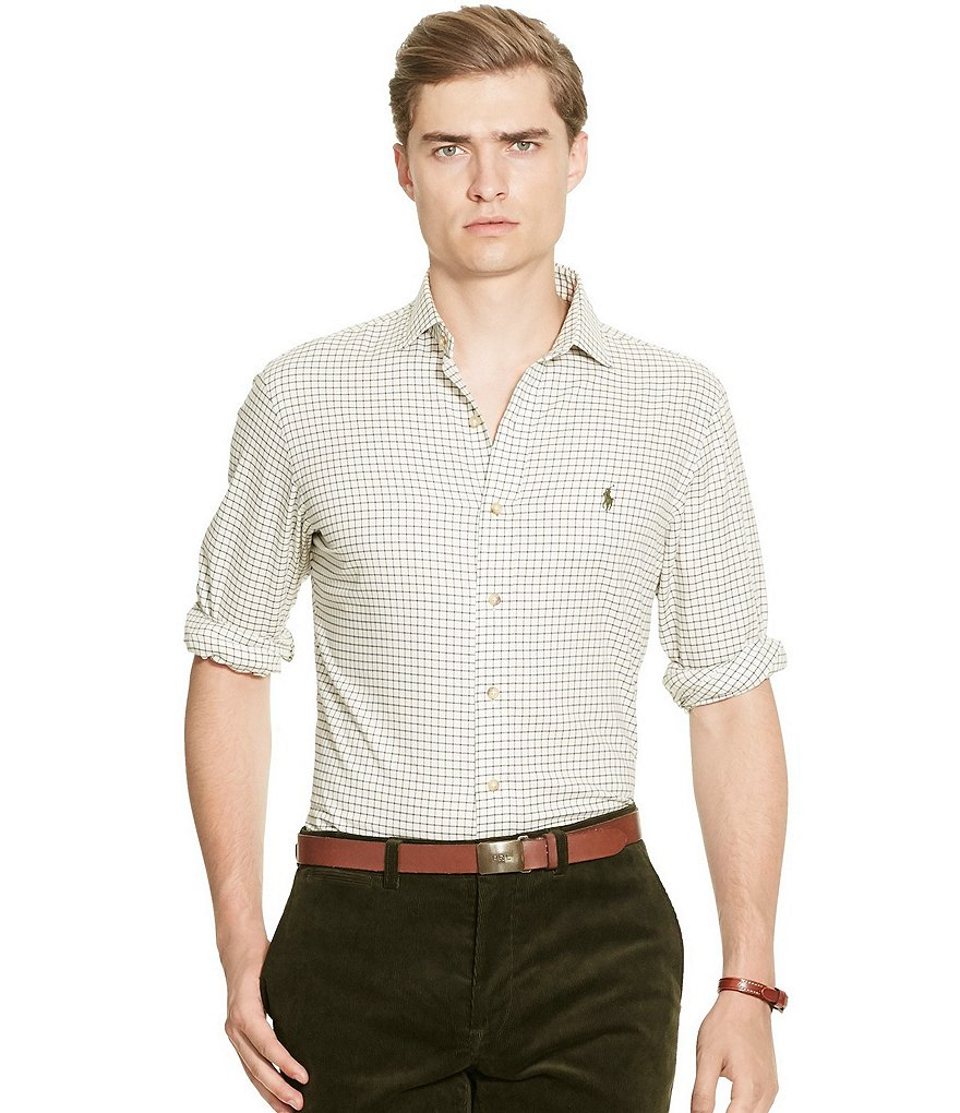 Polo Ralph Lauren Slim Checked Cotton Shirt