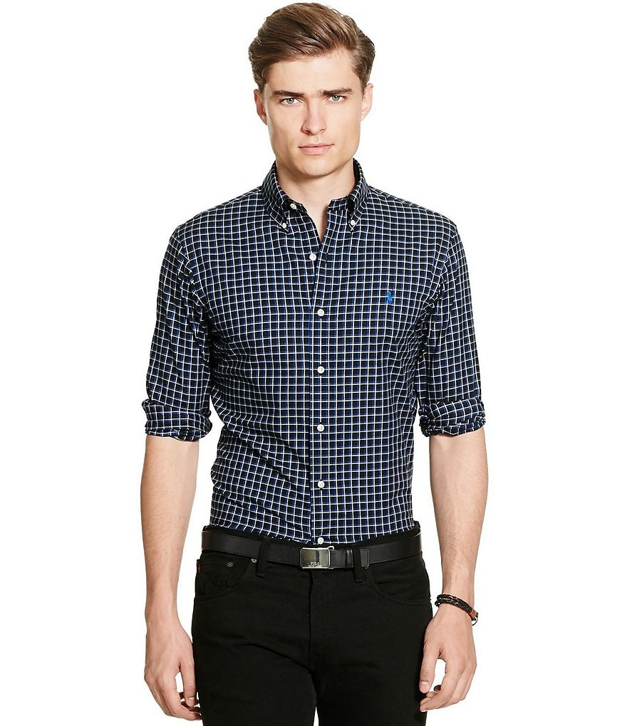 Polo Ralph Lauren Checked Long-Sleeve Woven Shirt