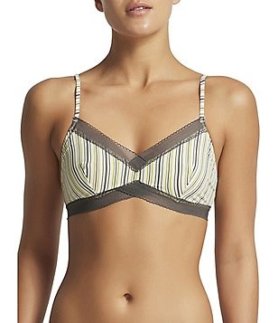 Elle Macpherson Body USA Touch Pinstriped Soft Bra