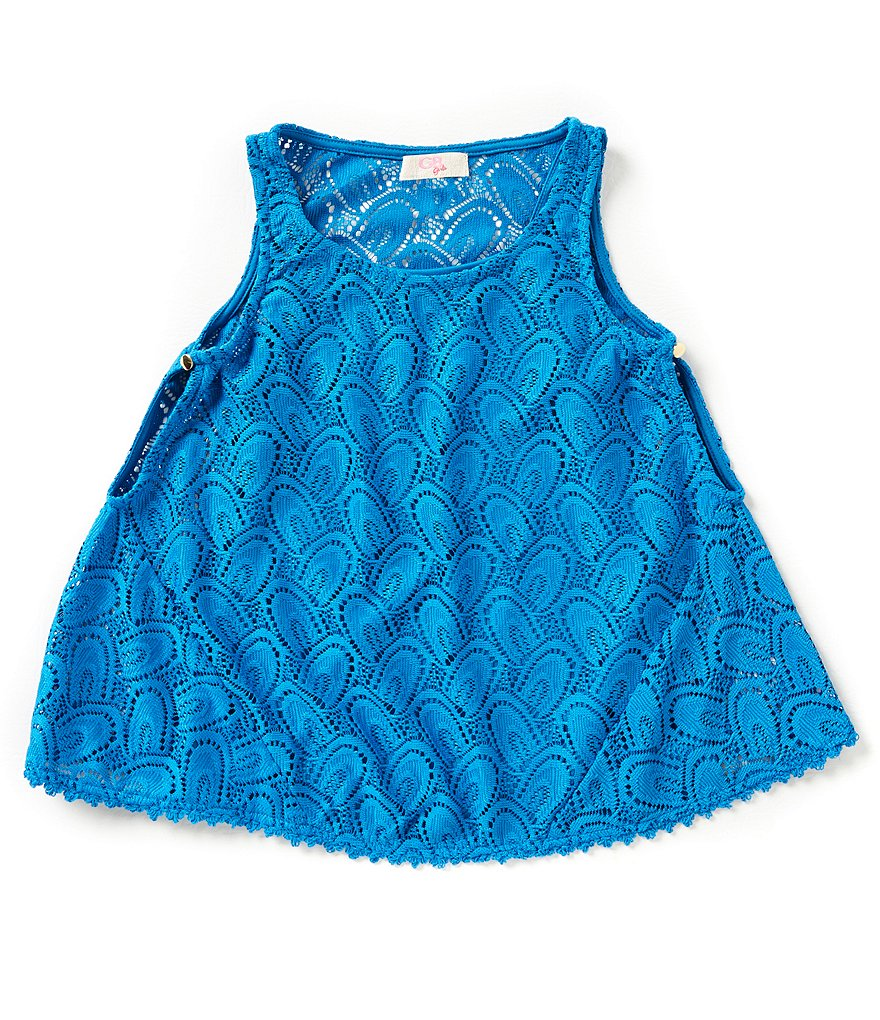 GB Girls Big Girls 7-16 Crochet Lace Tank