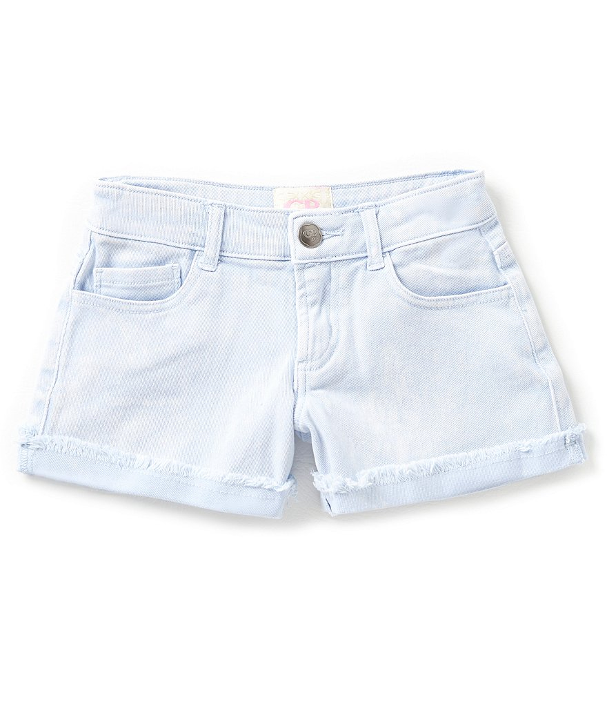 GB Girls Big Girls 7-16 High Waist Denim Shorts