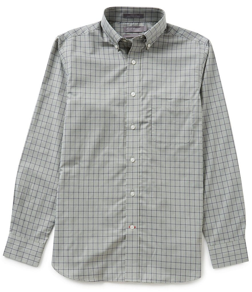 Daniel Cremieux Signature Long-Sleeve Slim-Fit Check Woven Shirt