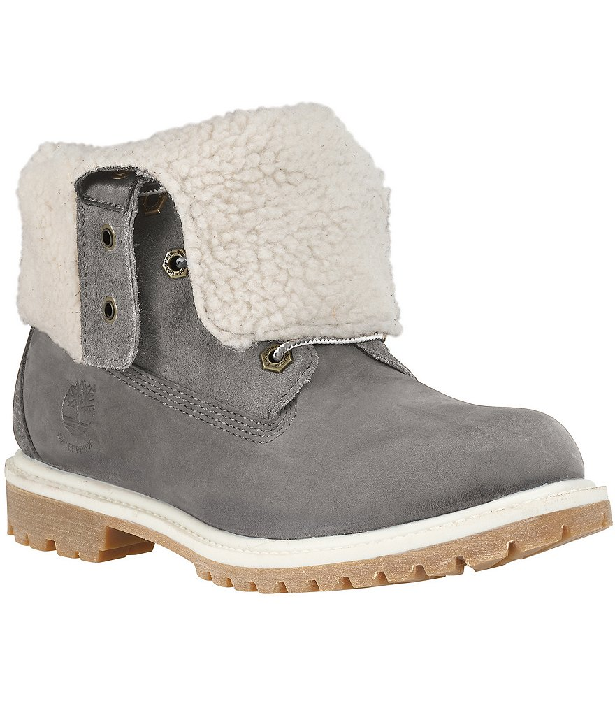 Timberland Women´s Teddy Fleece Fold Down Boots