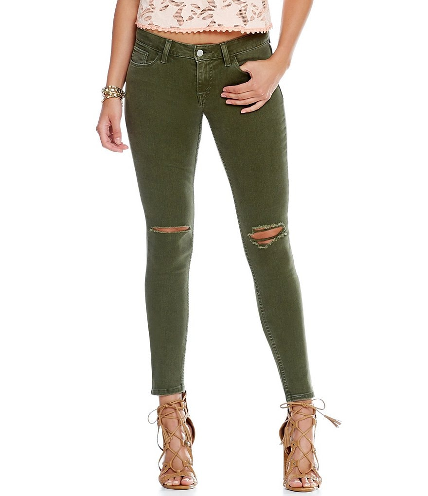 Levi´s® 535 Super-Skinny Destructed Jeans