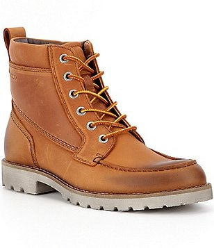 ECCO Jamestown High Water-Resistant Moc Toe Boots