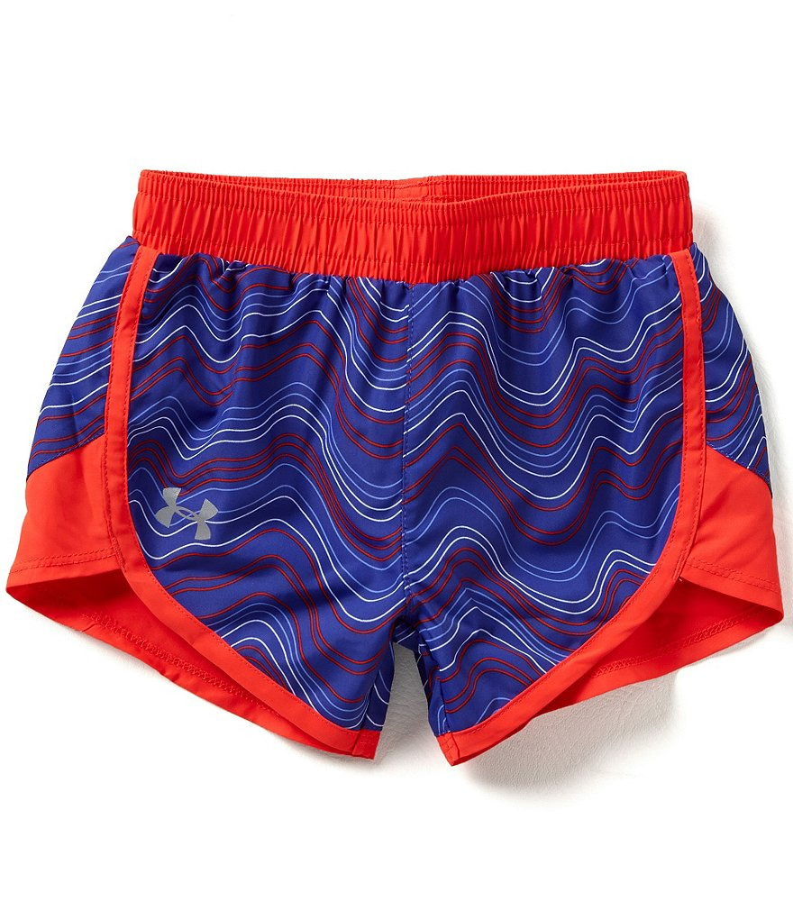 Under Armour Little Girls 2T-6X Fast Lane Pull-On Shorts