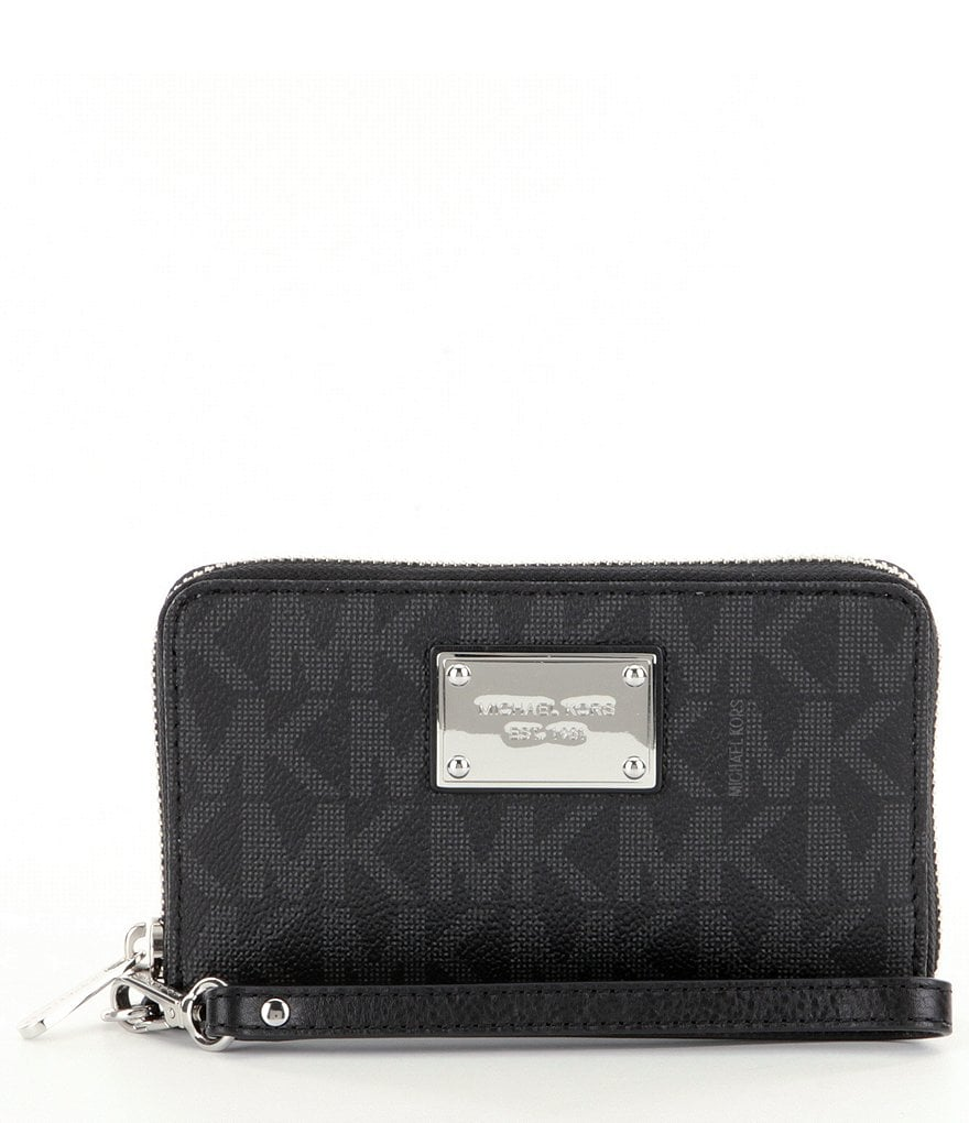 MICHAEL Michael Kors Jet Set Large Flat Multifunction Phone Wallet