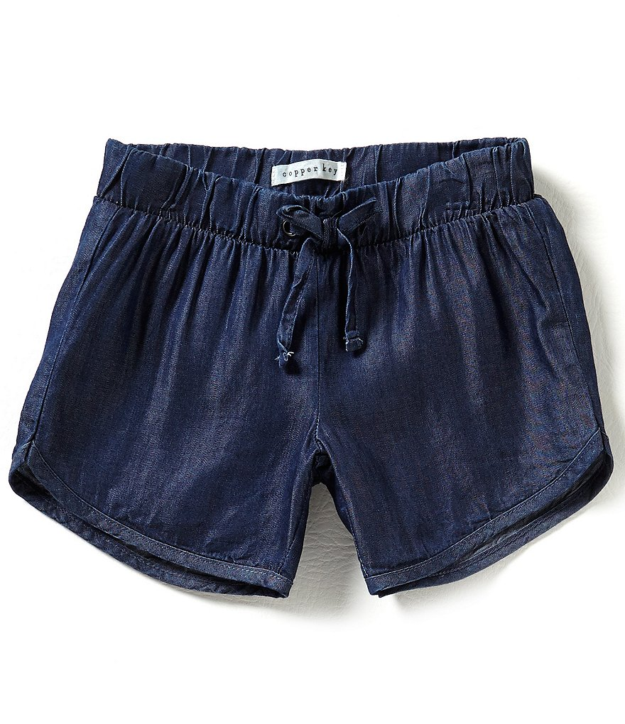 Copper Key Little Girls 2T-6X Track Shorts