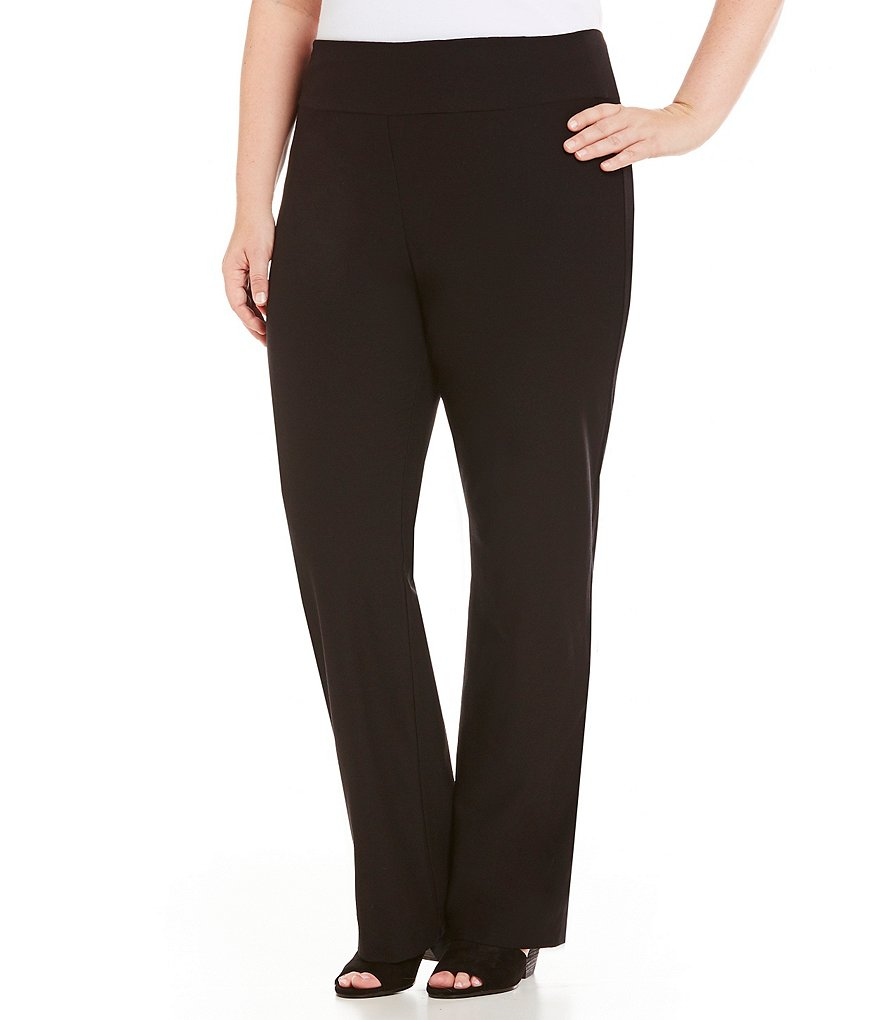 Eileen Fisher Plus Boot Cut Pants