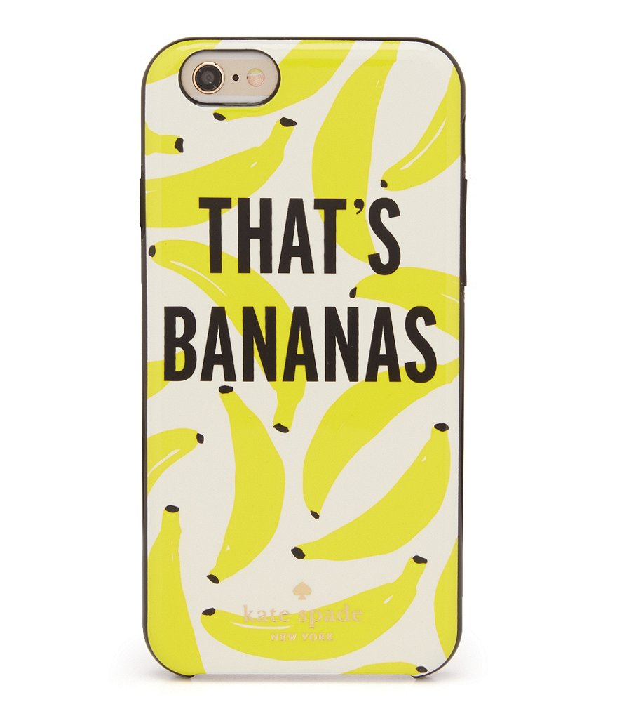 kate spade new york That´s Bananas iPhone 6/6s Case