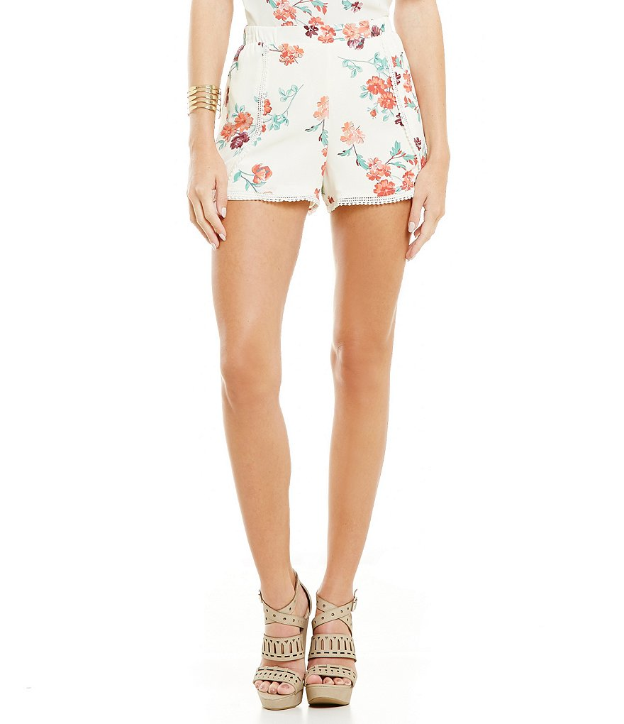 Copper Key Soft Floral Short