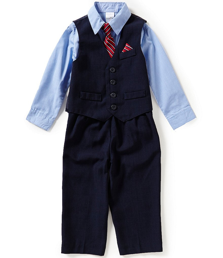 Starting Out Baby Boys 3-24 Months 3-Piece Vest & Pants Set