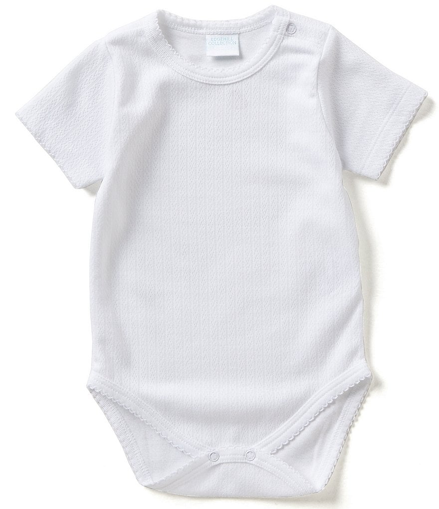 Edgehill Collection Newborn-6 Months Solid Bodysuit