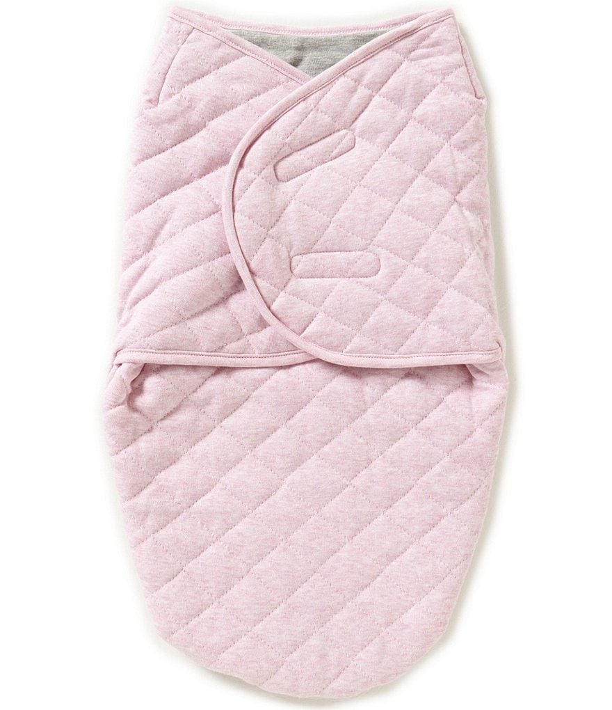 Starting Out Baby Girls Heathered Swaddle Blanket