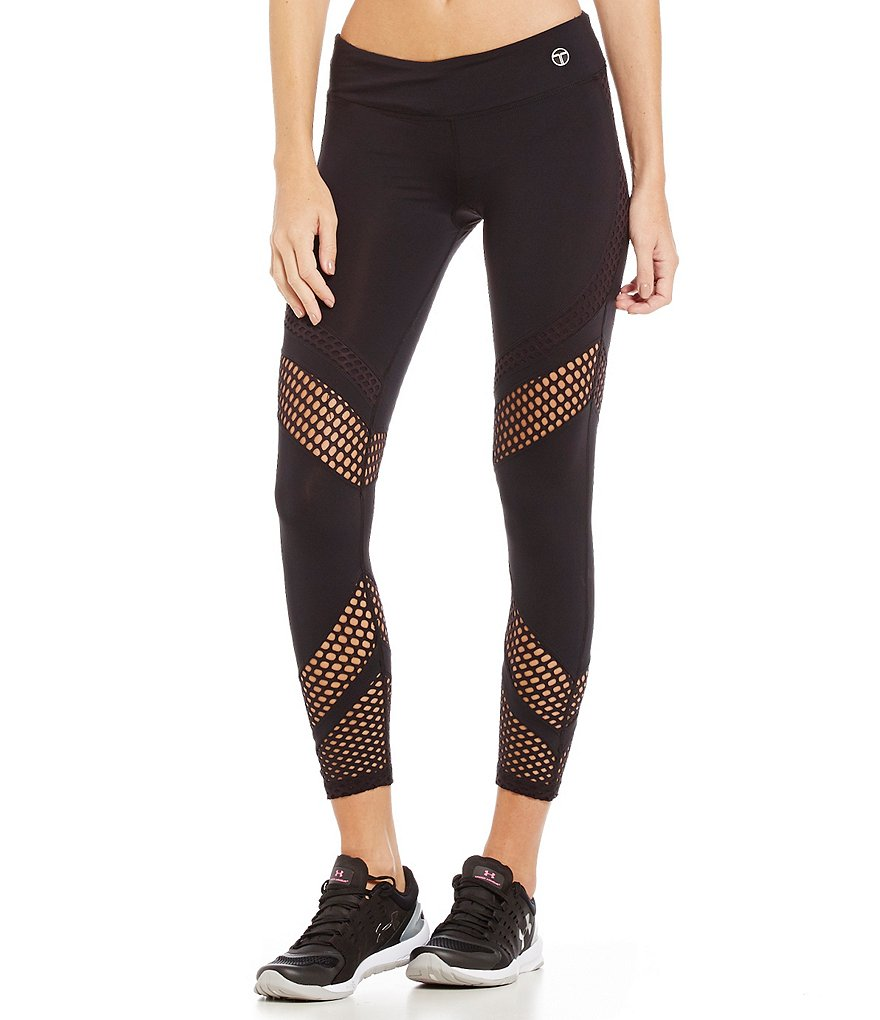 Trina Turk Recreation Laser Cut Full Length Legging