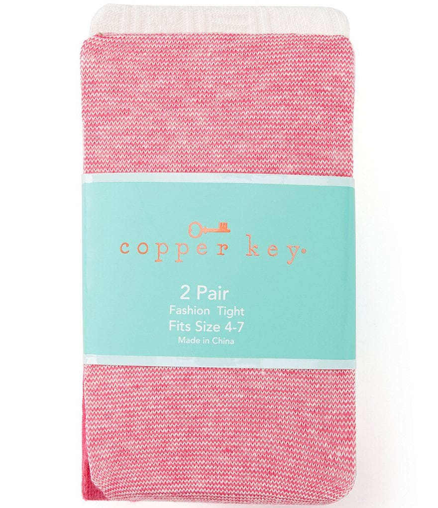 Copper Key 2-Pack Heavyweight Mini-Striped Tights