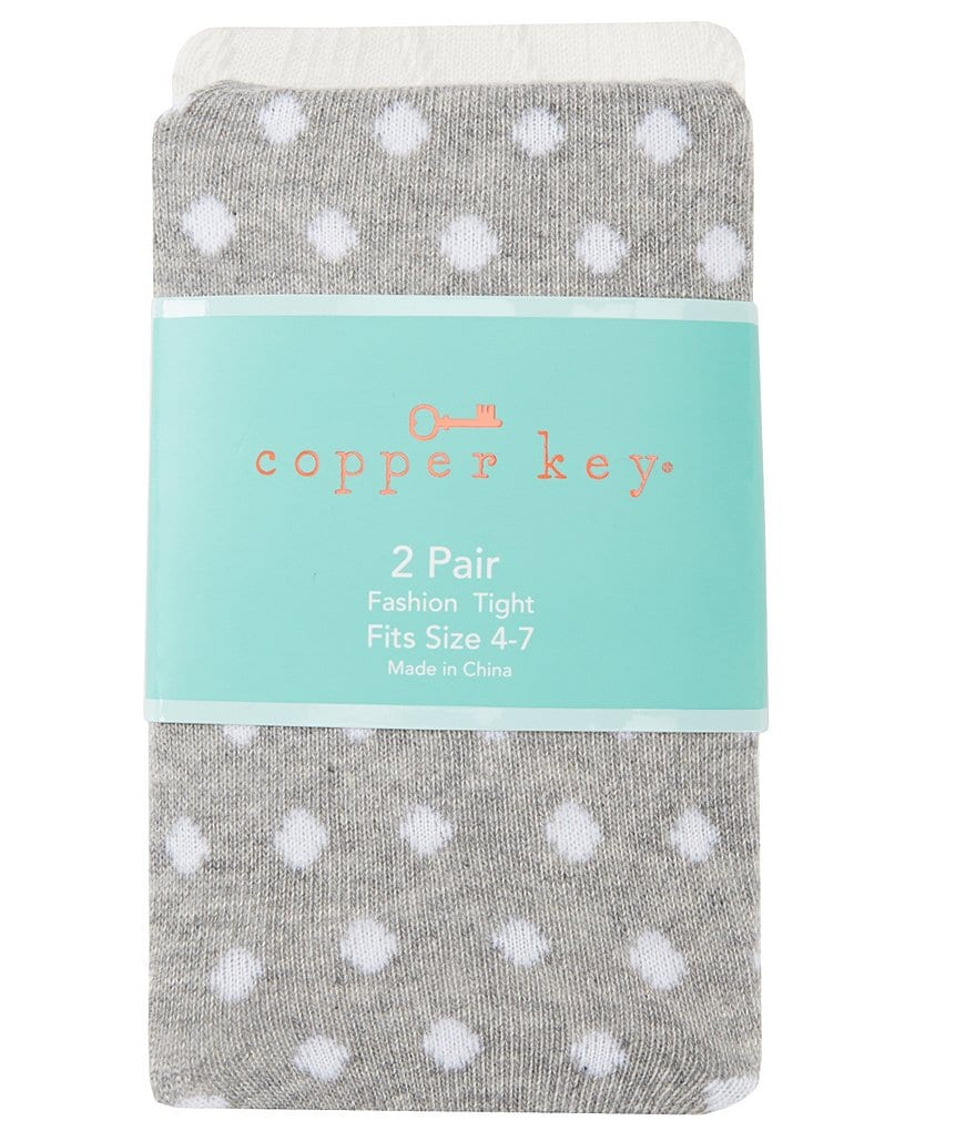 Copper Key 2-Pack Cable and Dotted Heavyweight Tights