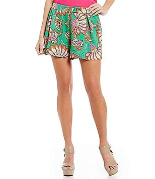 GB Printed Pleated Short