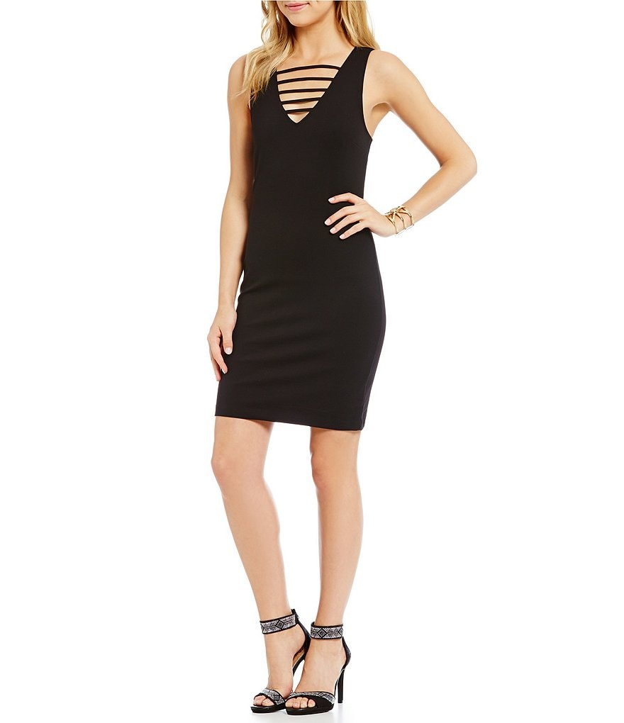 GB Strappy Bodycon Dress