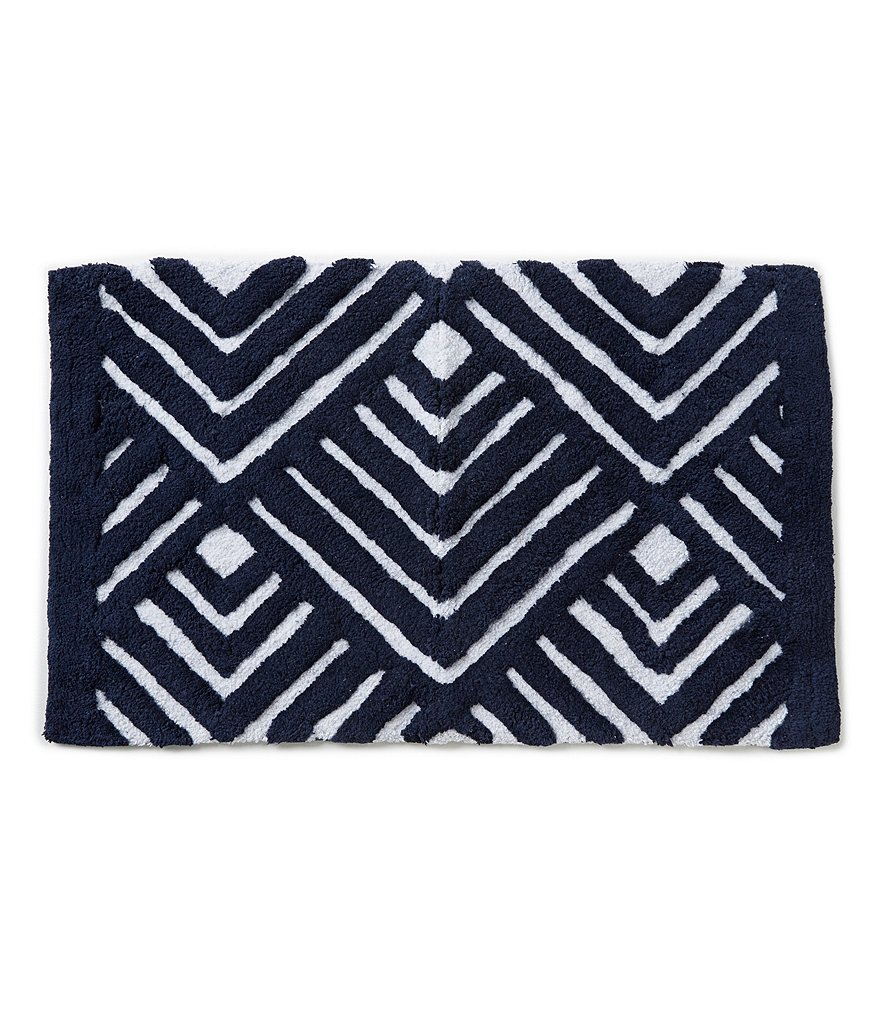 Studio D Attica Grecian Tile Cotton Bath Rug