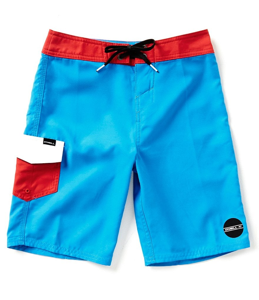 O´Neill Big Boys 8-20 Santa Cruz Colorblocked Board Shorts