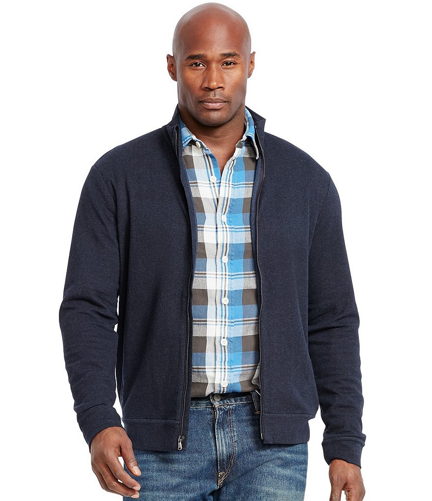 Polo Ralph Lauren Big & Tall Herringbone Double-Knit Jacket