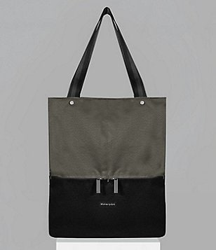 Sherpani Essentials Collection Sloan Color Block Recycled Vertical Laptop Tote