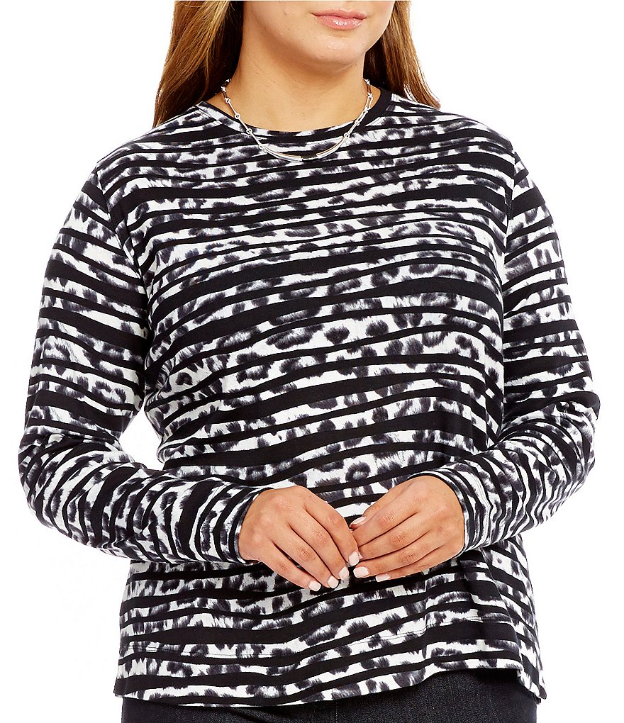 Westbound Plus Rib Crew Long Sleeve Tee