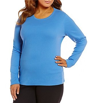 Westbound Woman Plus Crew Long Sleeve Tee