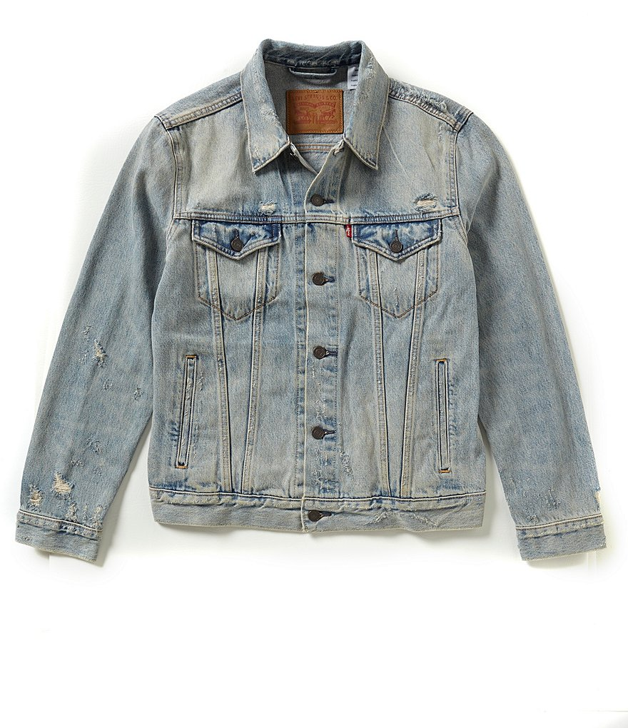 Levi´s® The Trucker Distressed Denim Jacket