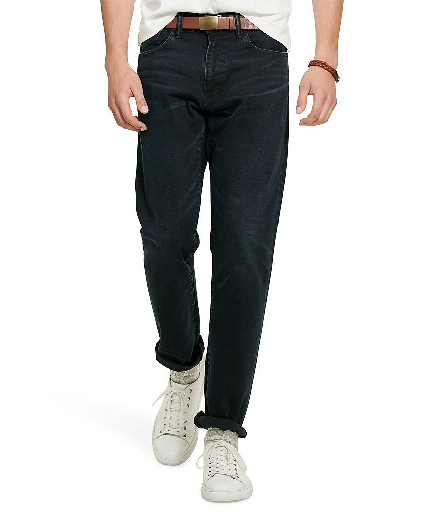 Polo Ralph Lauren Big & Tall Hampton Straight-Fit Stretch Jeans