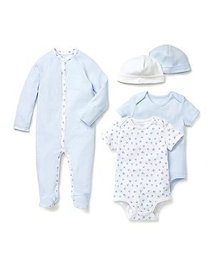 Ralph Lauren Childrenswear Baby Boys Newborn-9 Months Coverall, Bodysuit & Hats
