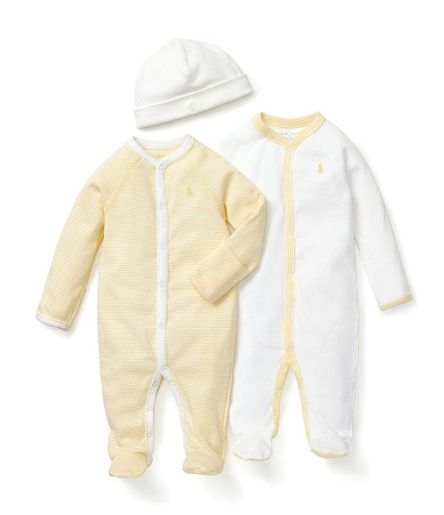 Ralph Lauren Childrenswear Coveralls and Beanie Cap