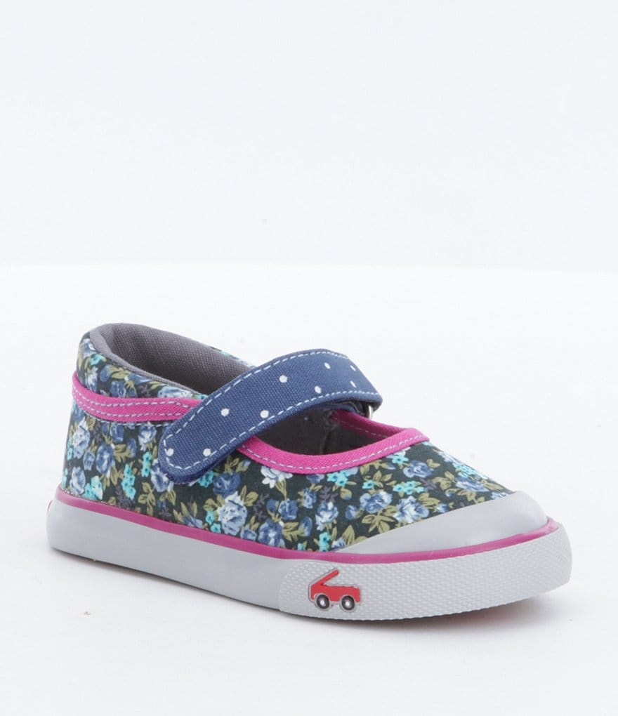 See Kai Run Girls´ Marie Floral Mary Janes
