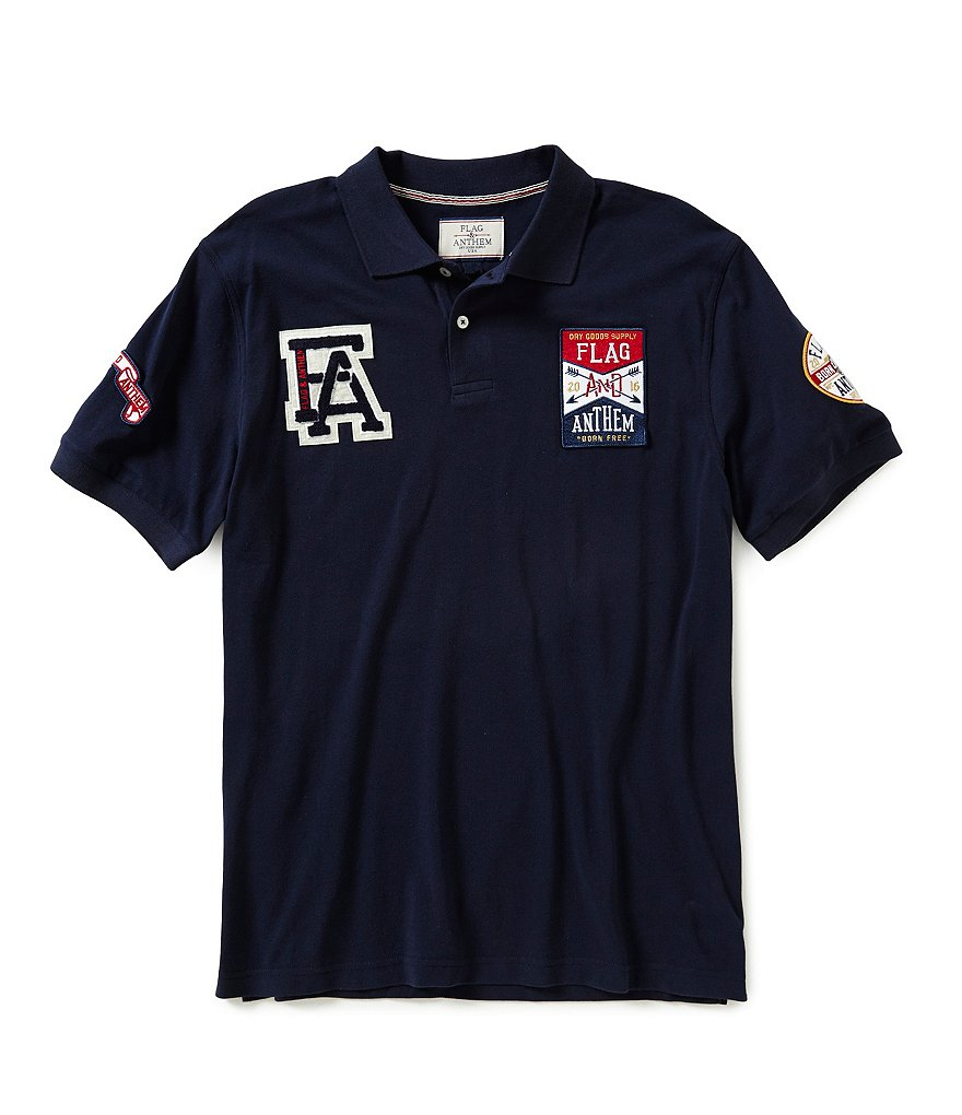 Flag & Anthem Plainfield Classic Rugby Polo Shirt