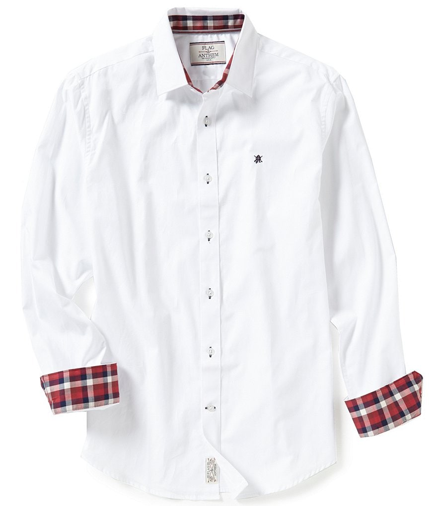 Flag & Anthem Burlington Long-Sleeve Solid Woven Shirt