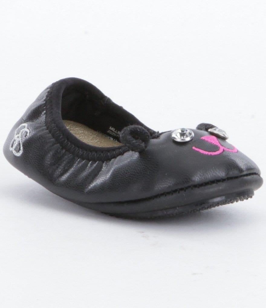Jessica Simpson Girls´ Millie Cat Crib Shoes