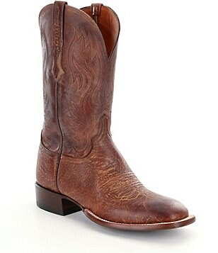 Lucchese Miller Leather Boots