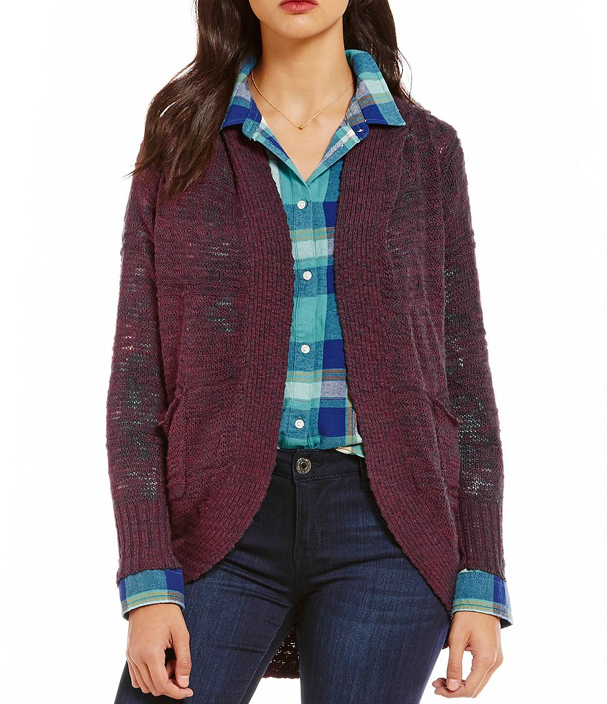 Roxy Mountain Of Love Open-Front Cardigan