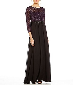Decode 1.8 Illusion Lace A-Line Gown