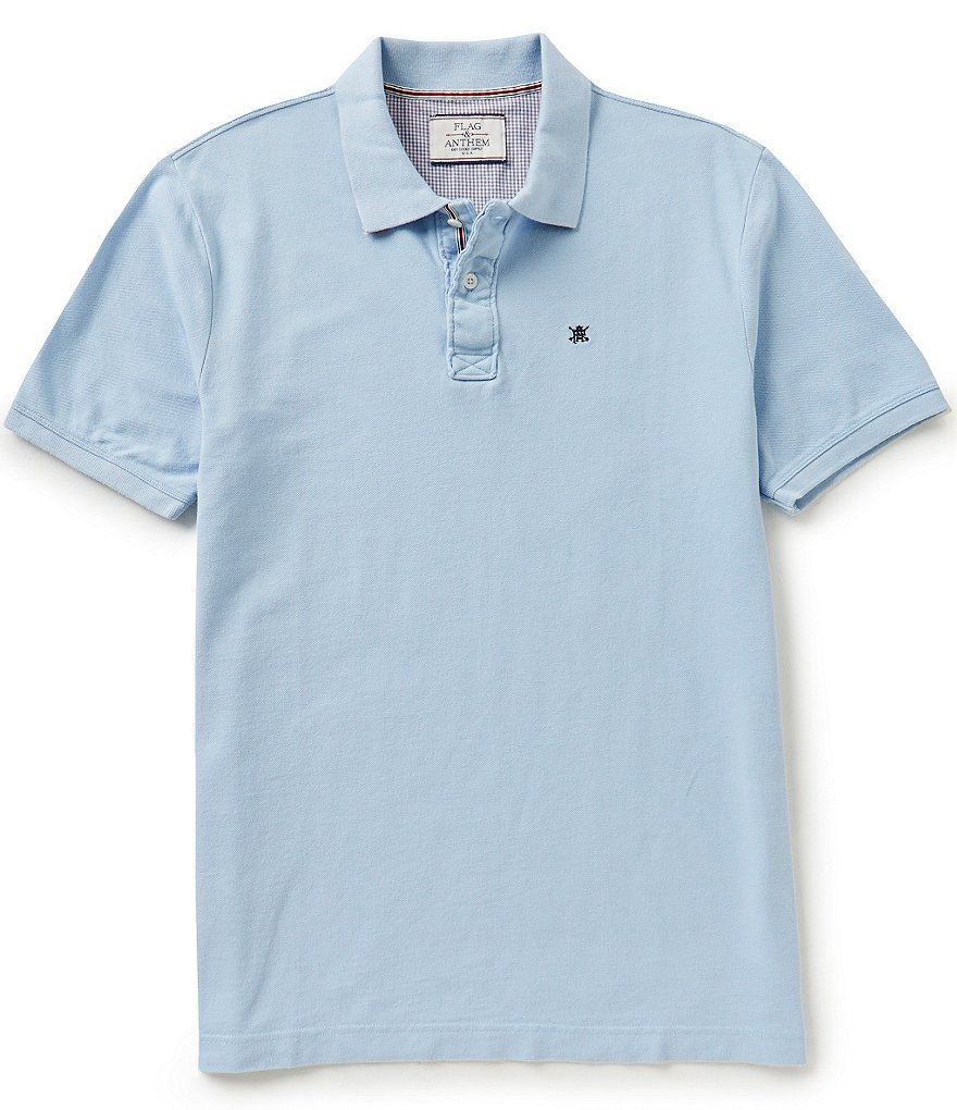 Flag & Anthem Clayton Short-Sleeve Solid Polo Shirt