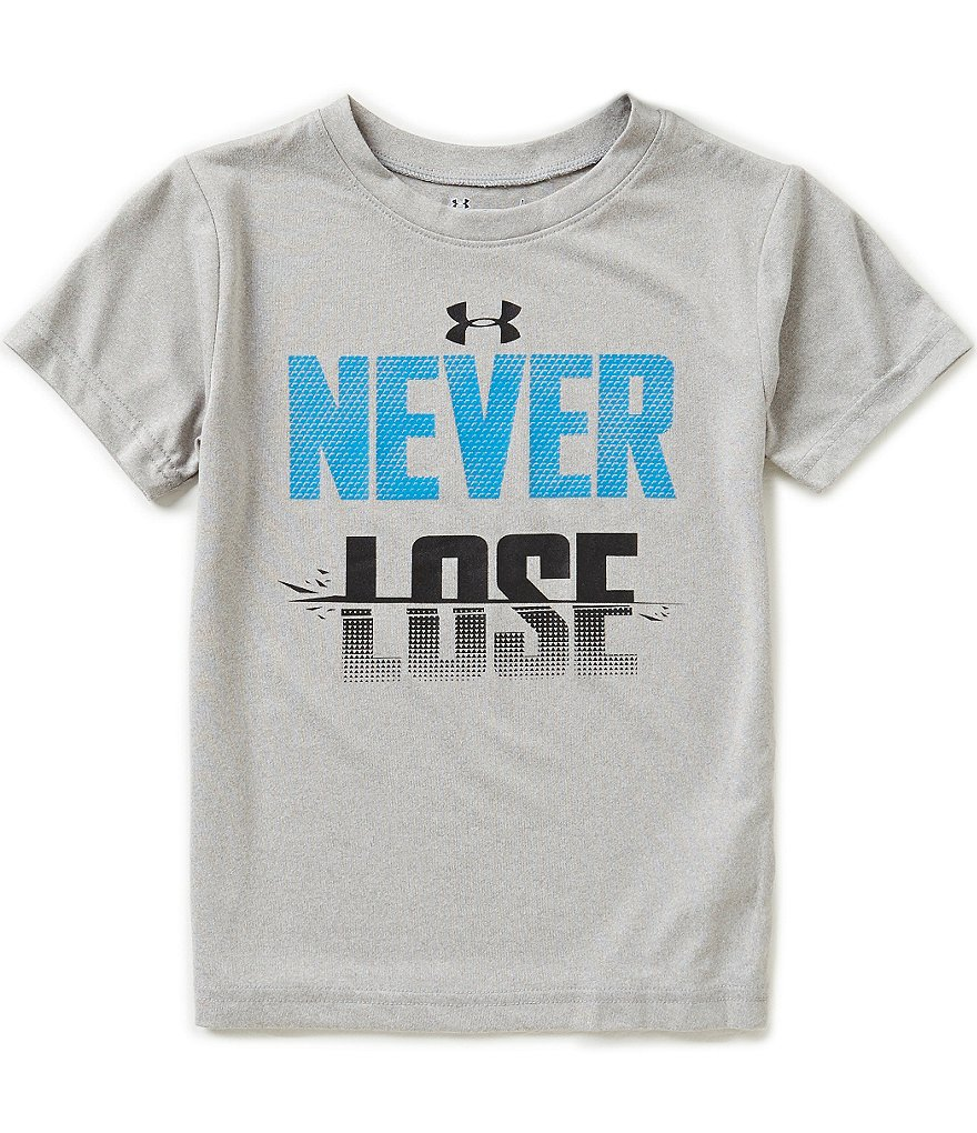 Under Armour Little Boys 4-7 Never Lose Short-Sleeve Graphic Tee