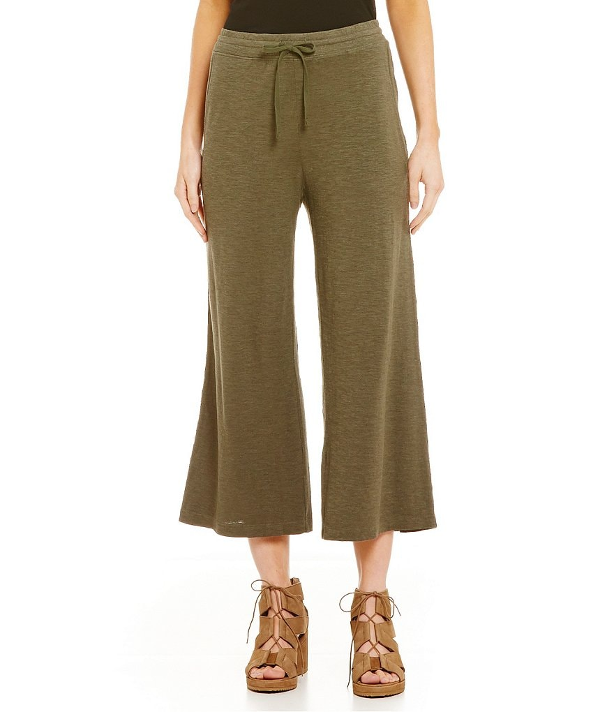 Eileen Fisher Cropped Palazzo Pants