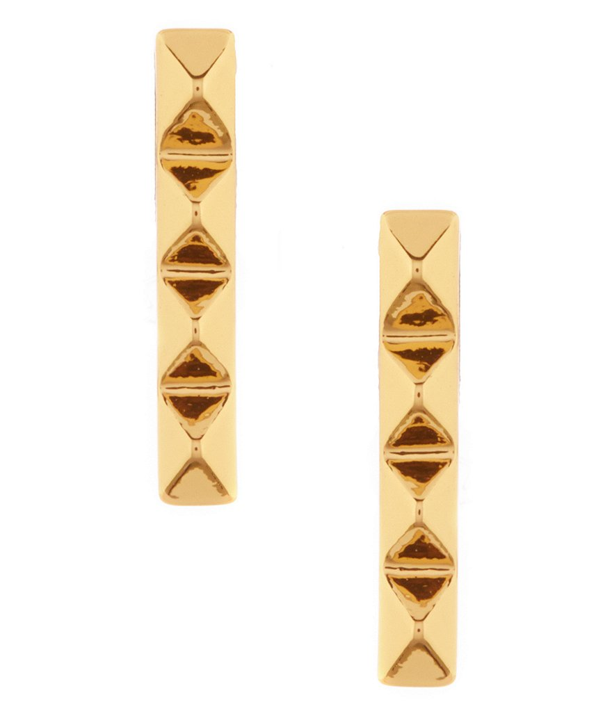 Trina Turk Pyramid Linear Earrings