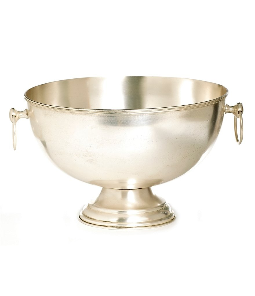 Southern Living Heritage Brass Punch Bowl