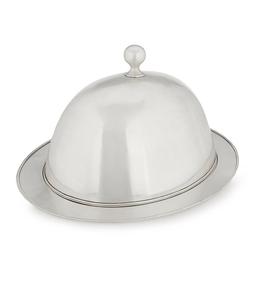 Southern Living Heritage Brass Cloche Cover