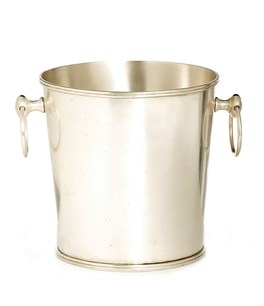 Southern Living Heritage Brass Champagne Bucket