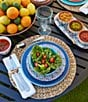 Color:Blue - Image 2 - Southern Living Melamine Dinner Plate