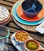 Color:Blue - Image 2 - Southern Living Melamine Cereal Bowl